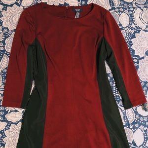 ☆ Chaps Long Sleeve Fitting Dress ☆